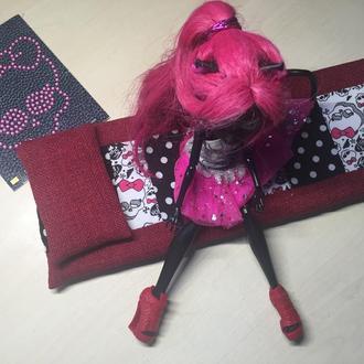 Постель для куклы Монстер Хай/Барби