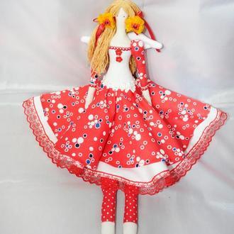 Кукла в стиле Тильда Ангел Любви