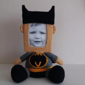 Бетмен фоторамка мягкая игрушка