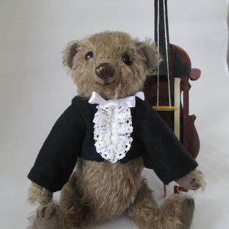 Мишка ручной работы, Мишка Тедди, Hand Made Teddy Bear