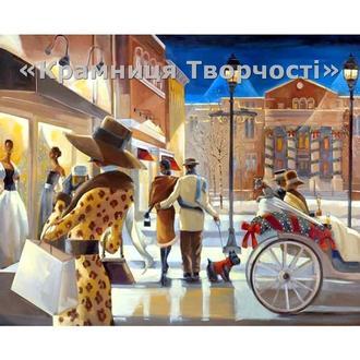 "Картина по номерам ""Вечерний променад"", КН2123, 40х50см."