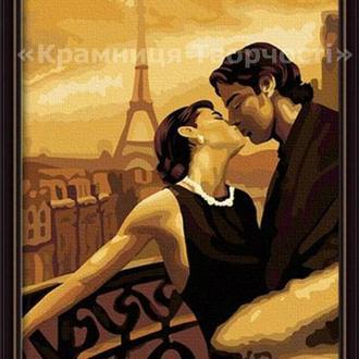 Картина по номерам 'Мечтами в Париже', 40х50см (КНО045)