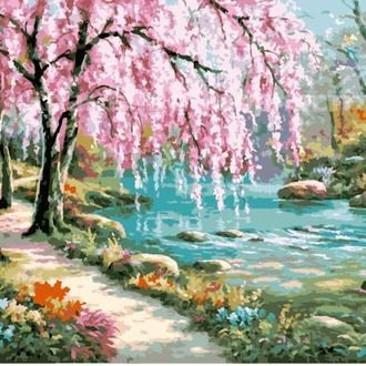 Картина по номерам 'Волшебный сад-2', 40х50см (КНО2811)