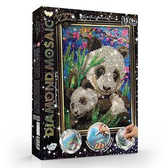 Алмазная живопись Панда (DM-02-10)