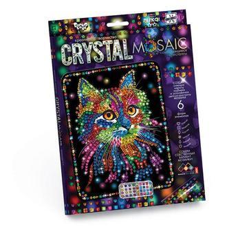 Кристальная мозаика Котик (CRM-01-02), детская серия