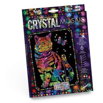 Кристальная мозаика Кот (CRM-01-03), детская серия