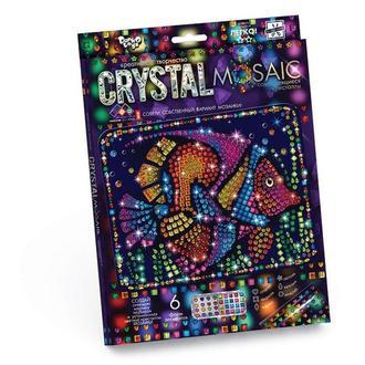 Кристальная мозаика Рыба (CRM-01-09), детская серия