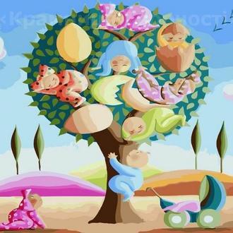 Картина по номерам 40х50 Дерево жизни (GX21772)