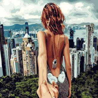 Картина по номерам 40х50 Следуй за мной, Сингапур (GX22061)