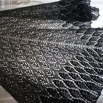 Махеровая шаль
