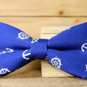 Галстук-бабочка I&M Craft синий (00048)