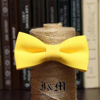 Галстук-бабочка i&m (00090) Soft yellow