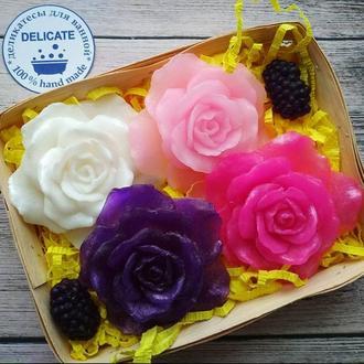 Набор мыло  - оригинальный подарок на 8 марта, день рождения