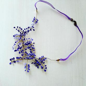 """Ожерелье """"Весеннее"""""""