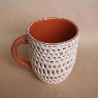 Чашка керамічна ручної роботи
