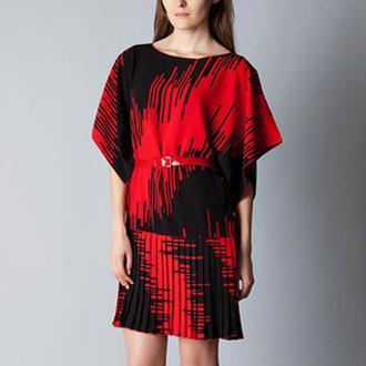 Платье с плиссе  от N.Verich