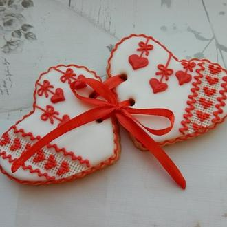Розписне печиво, расписные пряники