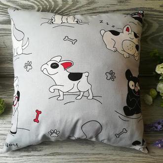 """Подушка собака """"Собака с косточкой"""" подушки для детей, 35 см * 35 см"""