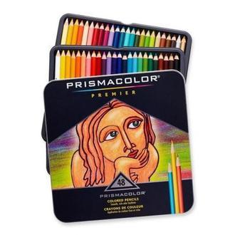 Набор мягких цветных карандашей 48 шт PRISMACOLOR