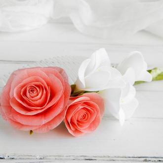 Гребень Розы и фрезии