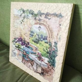 "Картина ""Утро в Провансе"", подарок на 8 марта"