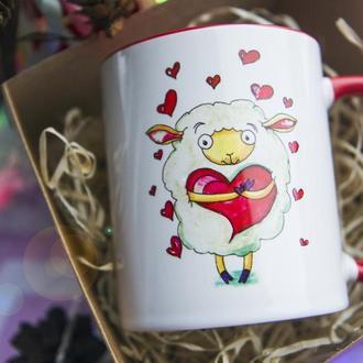 """Чашка з ілюстрацією """"Для тебе"""""""