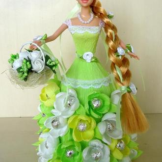 "Кукла с конфетами ""Девушка Весна"""