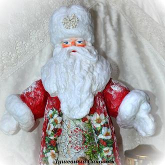 Дед мороз из ваты