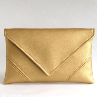 Золотой клатч / Вечерняя сумочка