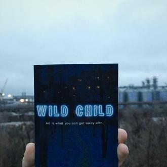 """Карманный блокнотик """"Wild Child"""""""