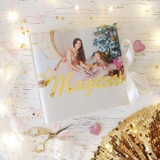 Альбом для фото Скрап альбом Детский альбом Фото печать на обложке