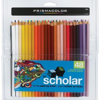 Ученические карандаши 48 шт (PRISMACOLOR Scholar Art Pencils)
