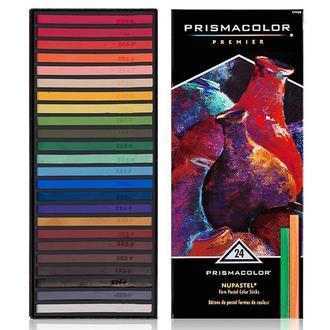 Набор цветных пастелей 24 шт (PRISMACOLOR NuPastel Color Sticks)
