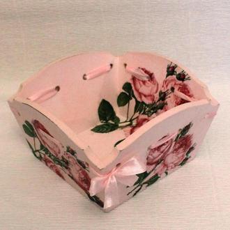 "Конфетница ""Розовый сад"""
