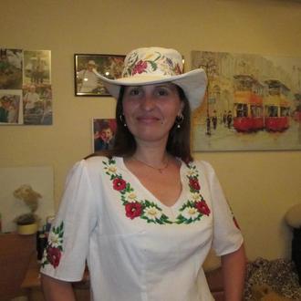 Шляпа - вышиванка
