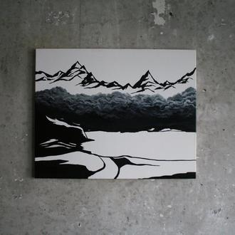 "Картина маслом ""Cloudy"""
