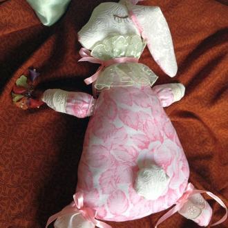 Игрушка-сплюшка Кролик
