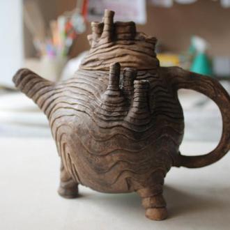 чайник  ручної роботи