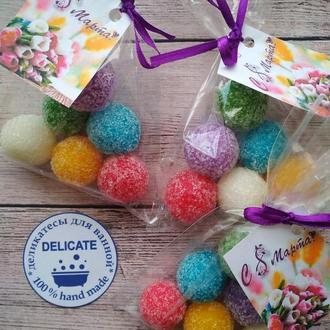 Сахарный скраб для тела с эфирными маслами -оригинальный подарок на 8 марта