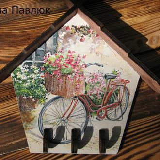 "Ключница ""Велосипед"""
