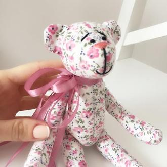 Мишка мишутка медведь игрушка тильда подарок на 8 марта девушке дочке маме