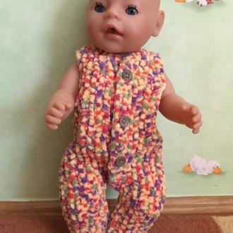 Одежда для беби борн комбинезон