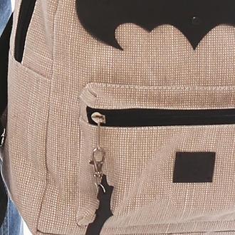 Кожаный брелок Batman