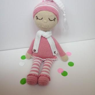 Кукла вязаная. Куколка. Лялька в'язана.