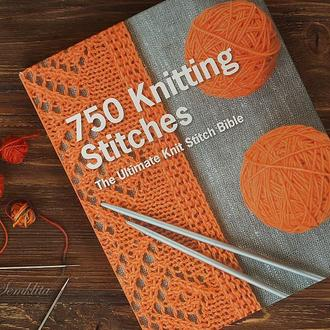 Книга 750 Knitting Stitches