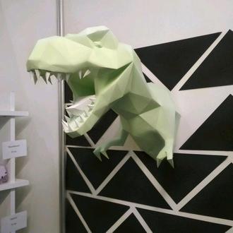Тиранозавр с бумаги