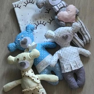 "игрушка-сплюшка ""Медвежонок"" 30 см"