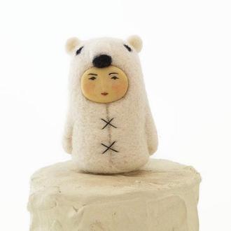 """игрушка человекодруг медведь """"Эрнест"""""""