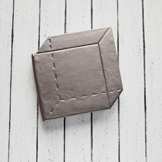 Блокнот необычной формы с белыми листами (интересный блокнот)
