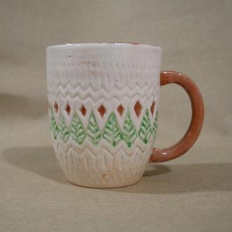 "Керамічна чашка ""Фольк"""